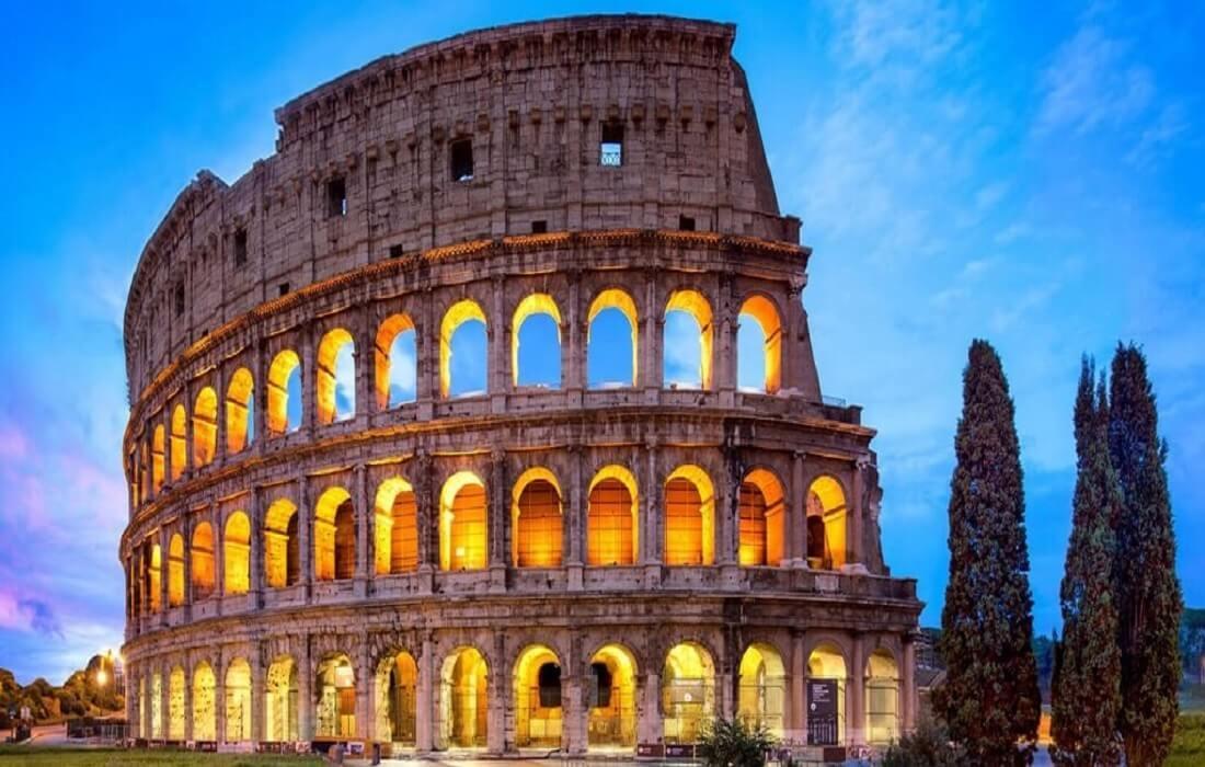 Tyskland, Schweiz og Italien med tog 12 dage / 11 nat - Rom