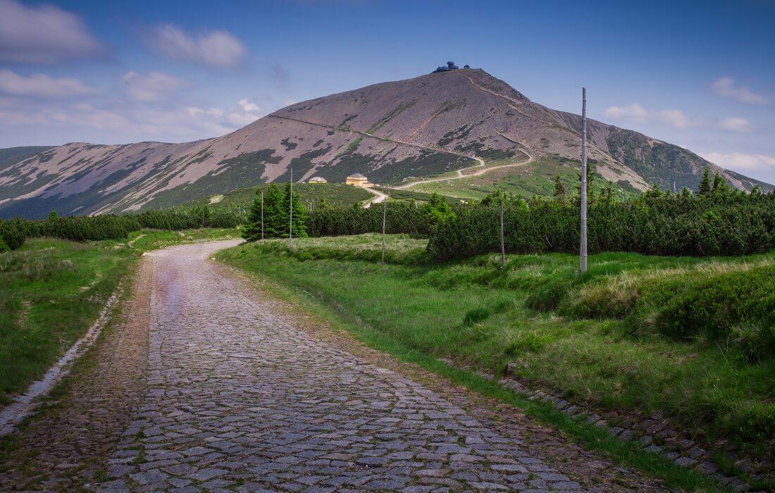 Trekking til Snezka