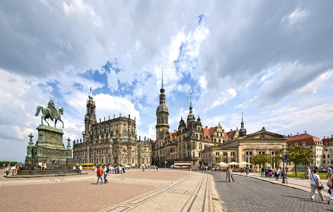 Tyskland med tog 8 dage / 7 nat - Dresden