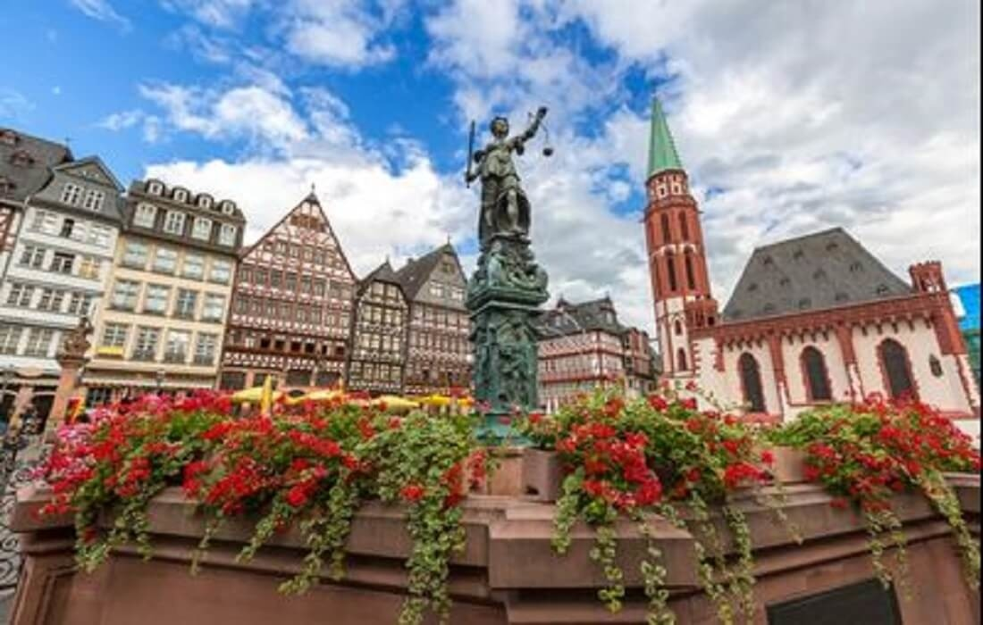 Interrail Tyskland, Schweiz, Østrig: 9 dage / 8 nat - Frankfurt