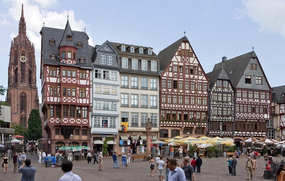 Tyskland med tog 8 dage / 7 nat - Frankfurt