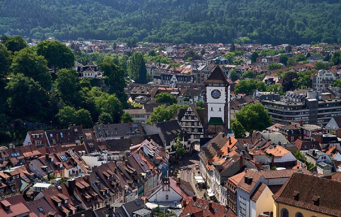 Tyskland, Schweiz, Frankrig: 14 dage / 13 nat - Freiburg