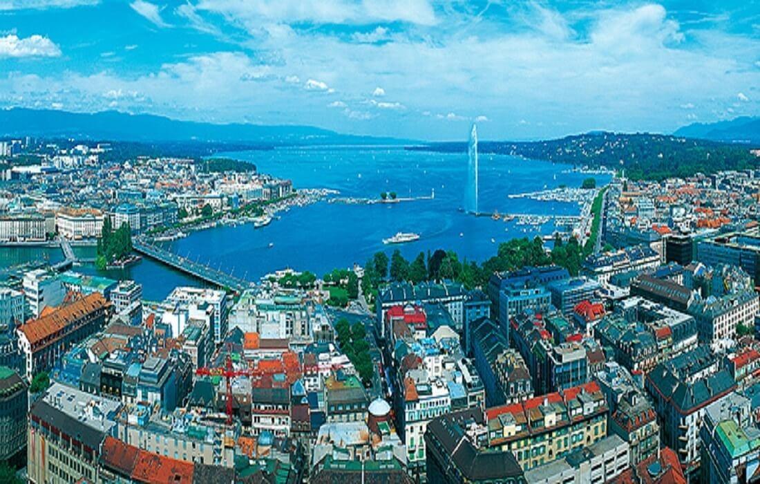 Frankrig, Schweiz og Italien med tog 9 dage / 8 nat - Geneve