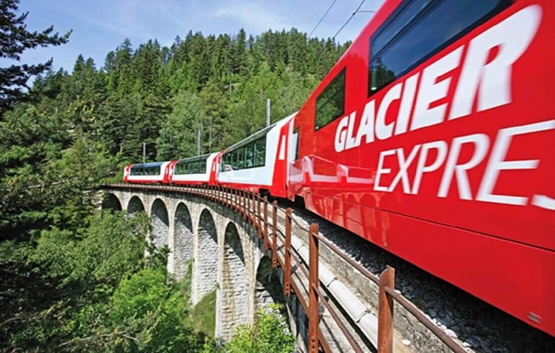 Grand tour Schweiz 8 dage / 7 nat - Glacier Express