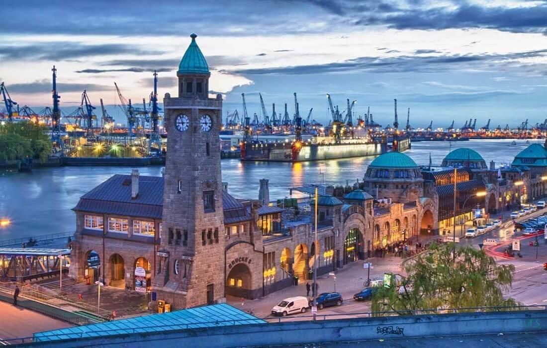 Tyskland med tog 8 dage / 7 nat - Hamburg