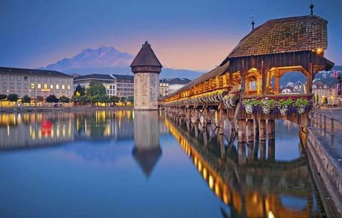 Tyskland, Schweiz, Frankrig: 14 dage / 13 nat - Luzern