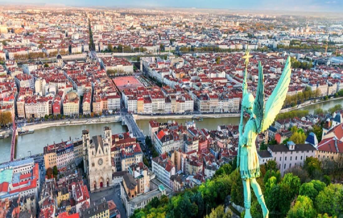 Oplev Frankrig med tog 8 dage / 7 nat - Lyon