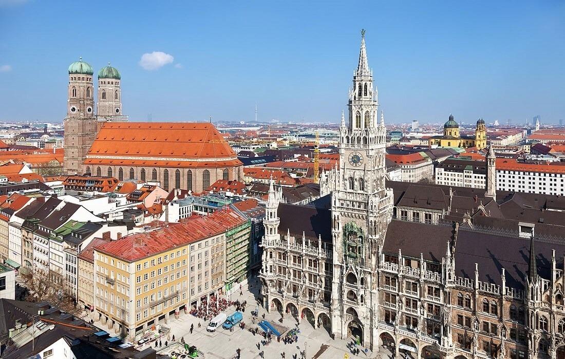 Interrail Tyskland, Schweiz, Østrig: 9 dage / 8 nat - München