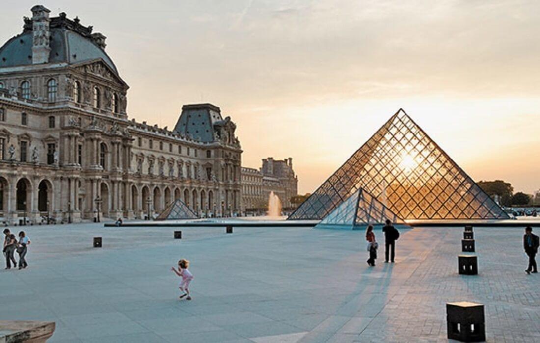 Oplev Frankrig med tog 8 dage / 7 nat - Louvre