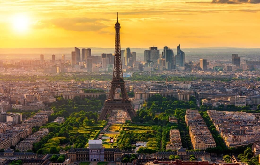 Oplev Frankrig med tog 8 dage / 7 nat - Paris