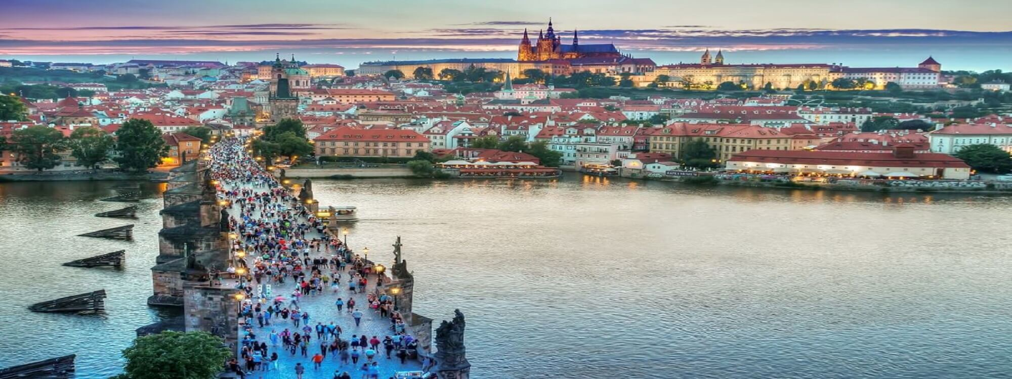 Forår i Prag
