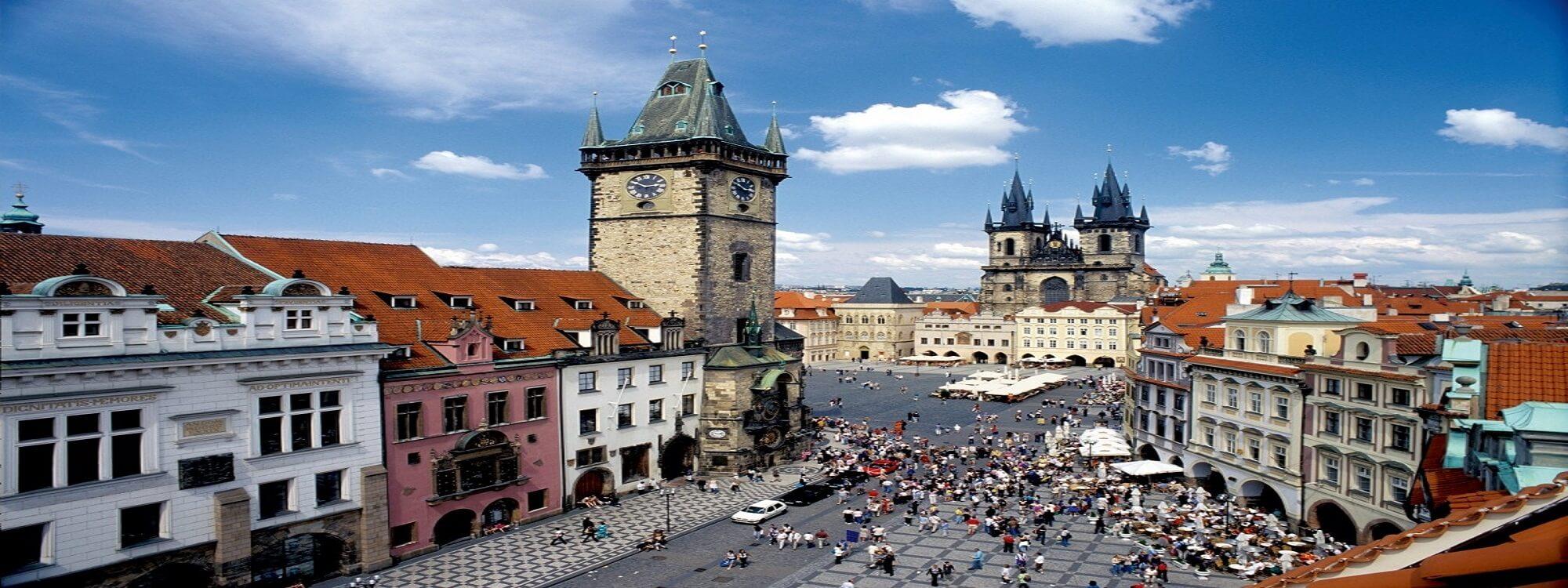 Sommer i Prag