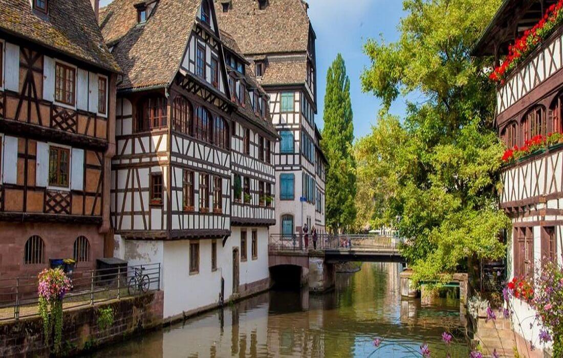 Frankrig og Italien med tog 10 dage / 9 nat - Strasburg