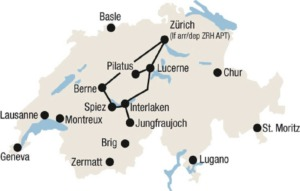 Toppen af schweiz