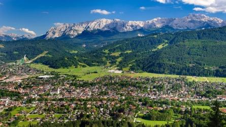 Sommerferie i Garmisch-Partenkirchen