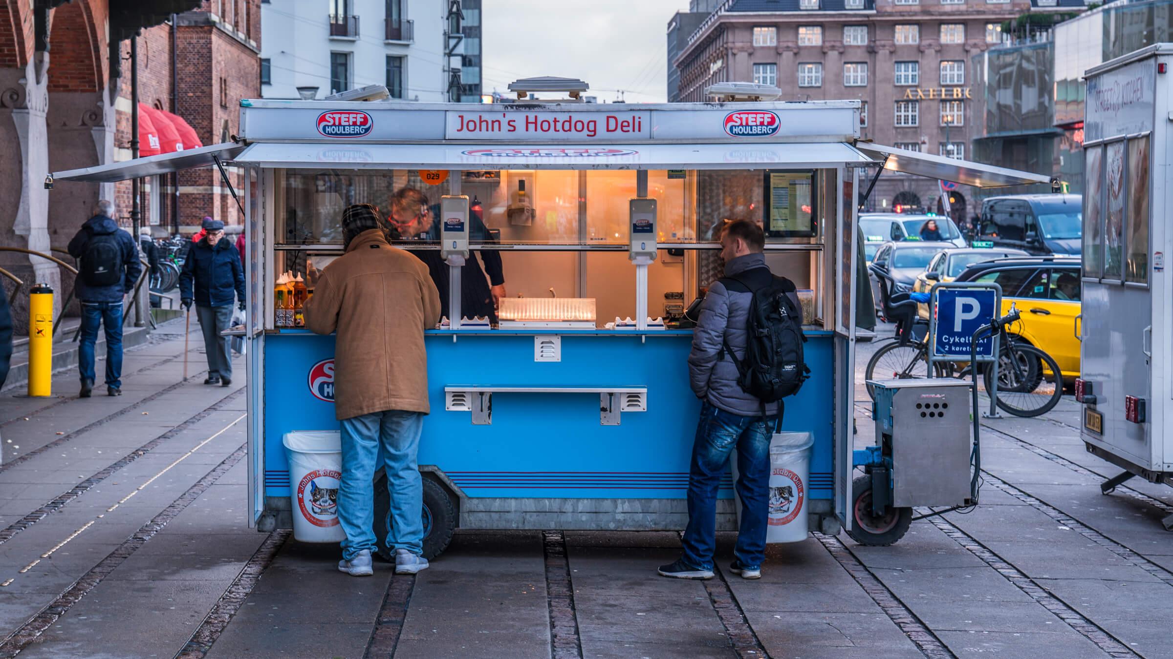 Pølsevogn, København