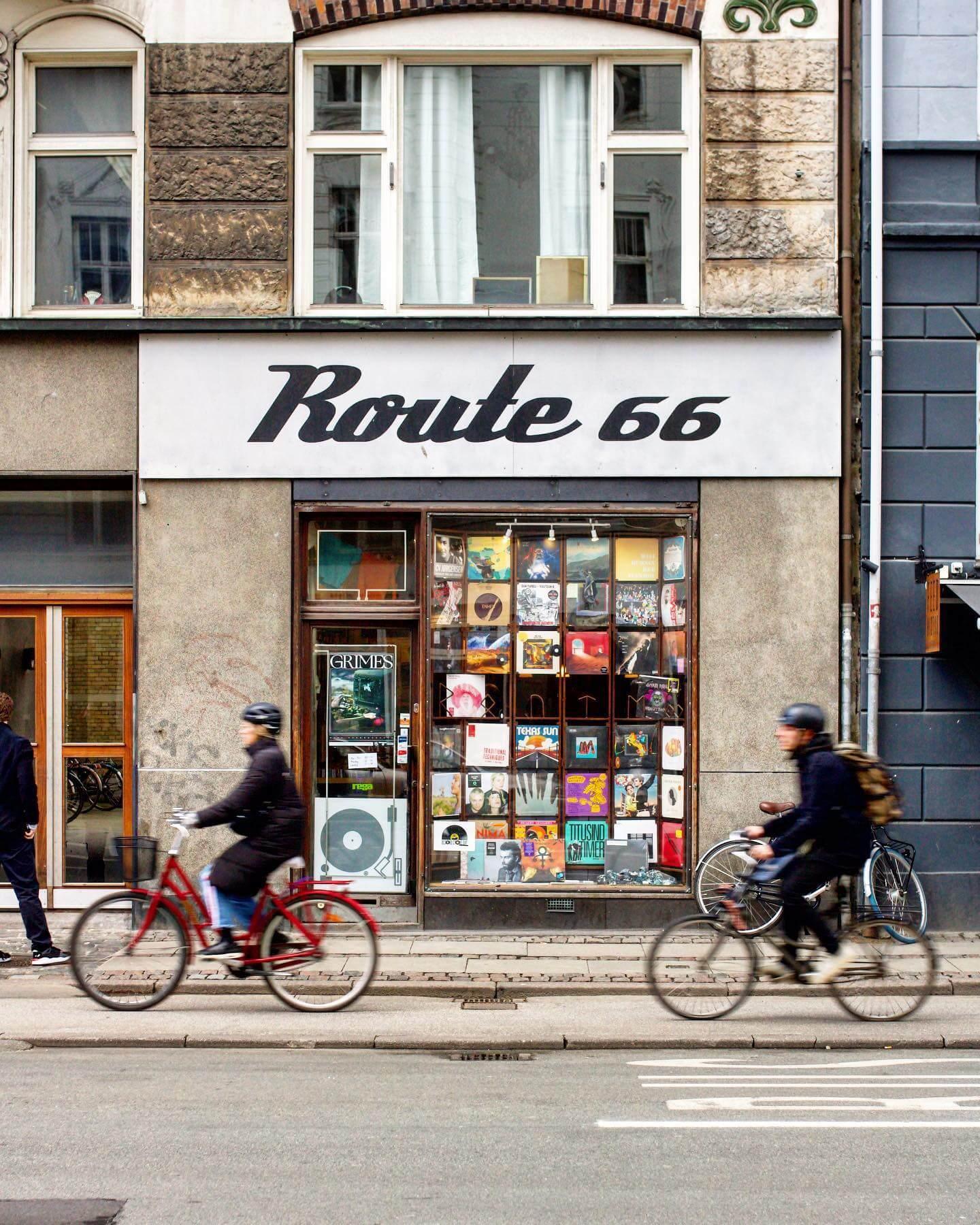 Vinylshop, Nørrebro
