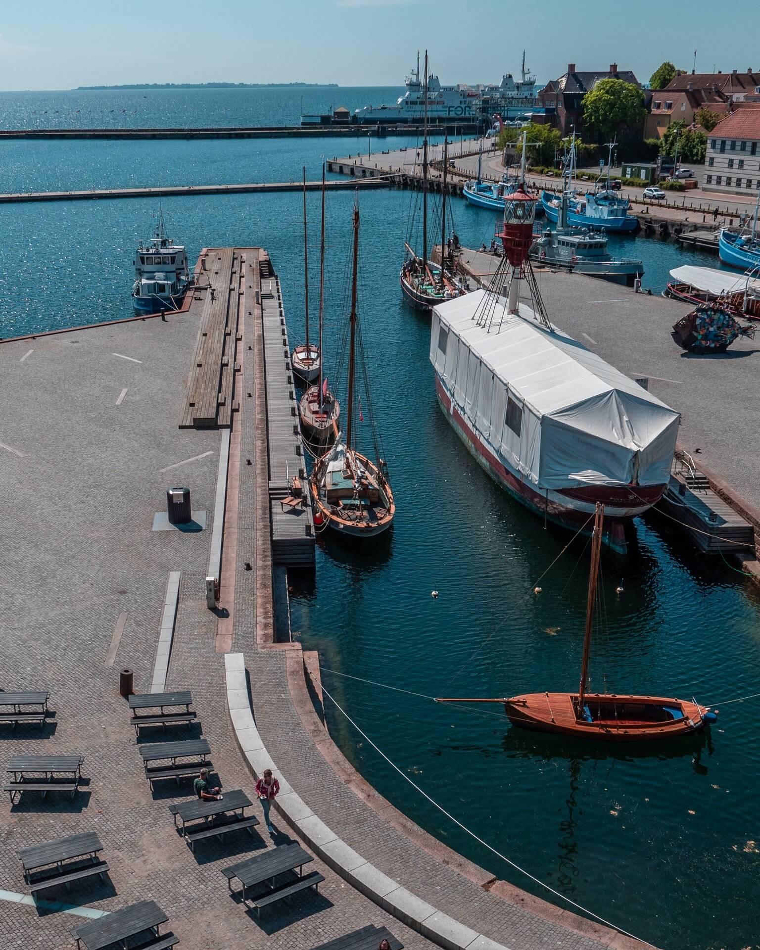 Helsingør havn (Foto: Daniel Rasmussen)