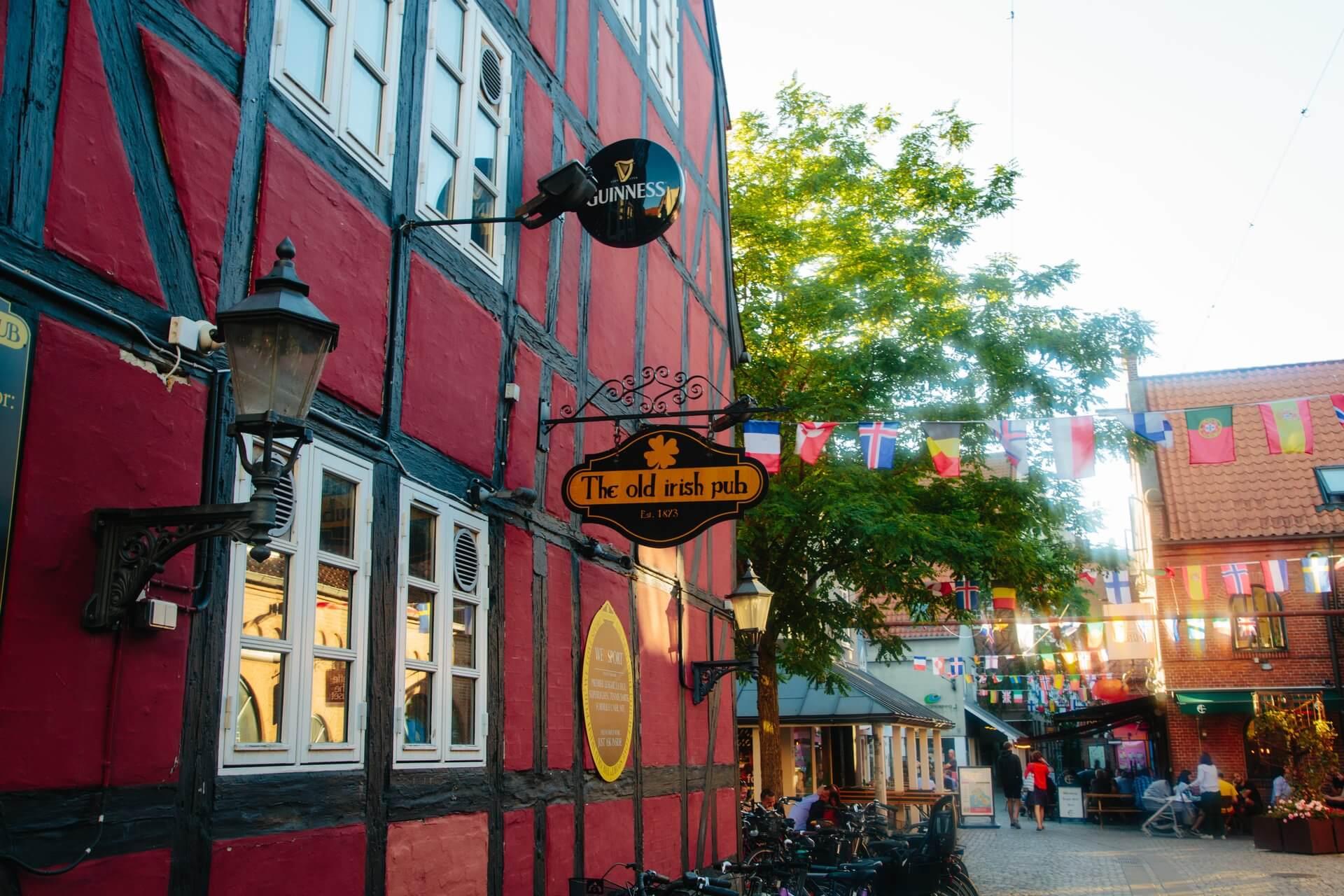 Irish pub, Odense (Foto: Michael Fiukowski)
