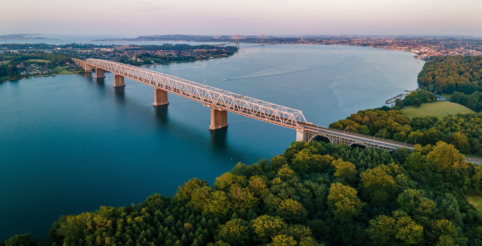 Lillebælts jernbanebroen (Foto: Daniel Villadsen)
